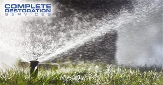 Are My Sprinklers Causing Water Damage to My Home?